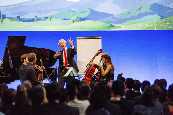 Cebit Salesforce Konzert